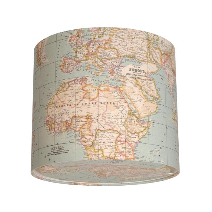 Cartography-Lampshade