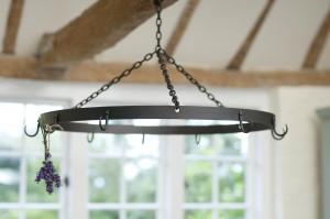 Pan-Hanger-forged-iron-black
