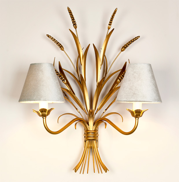 Gold-Wheatsheaf-wall-light