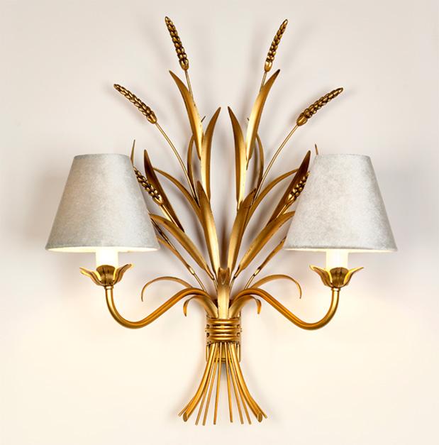 Gold-Wheatsheaf-wall-light